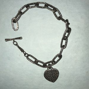 Jewelry - JOHN HARDY Sterling Silver Heart Link Bracelet